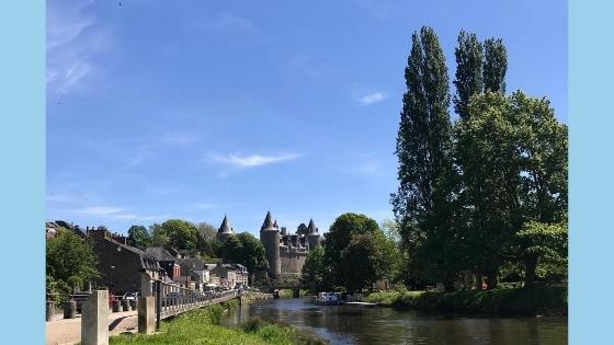Josselin in France