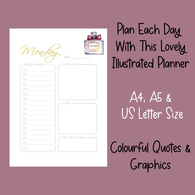 Picture of planner